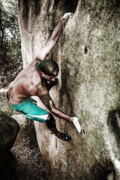 Rock Climbing Photo: Super Hueco #2!!