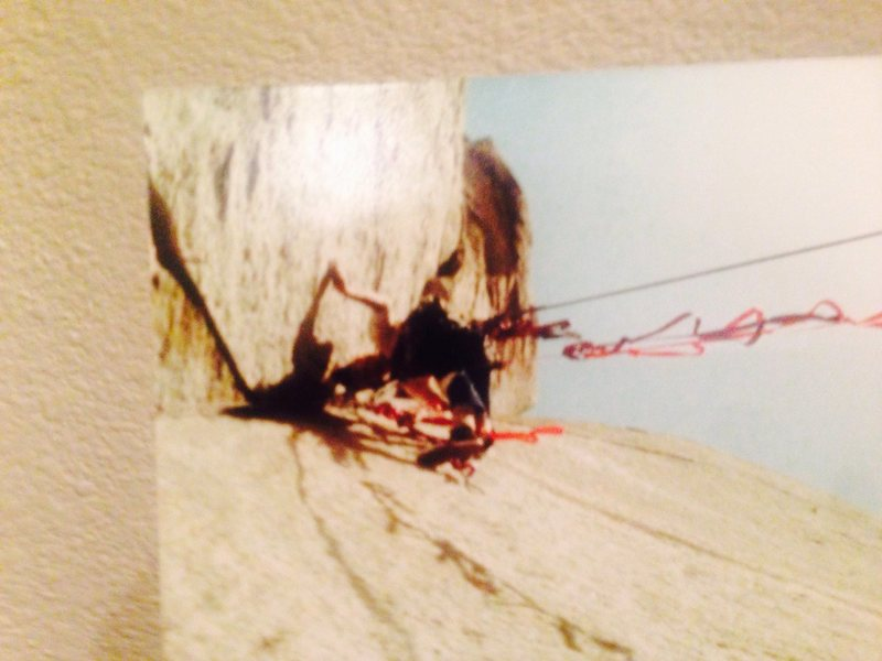 Electric Ladyland, Stretch, AKA, Steve Ortner with Mike Fogart,<br> Early ascent