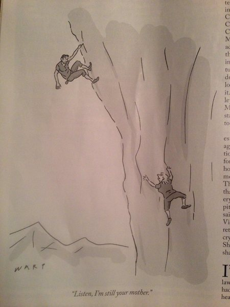 Handhold in the New Yorker