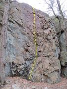 Rock Climbing Photo: Dartboard