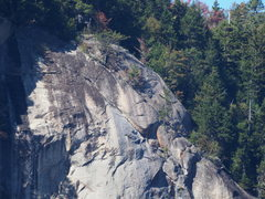 Rock Climbing Photo: #3 of 3 Tele-photo: Top of right-side Bear Mt