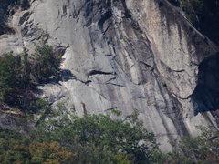 Rock Climbing Photo: 1 of 3 Tele-photo: Bottom of Rt Side Bear Mt