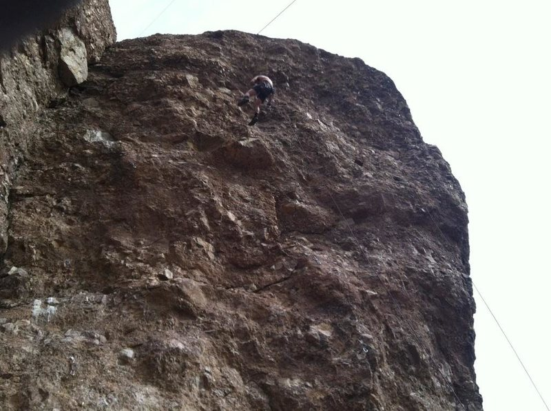 Rock Climbing Photo: Sussing moves on power lion