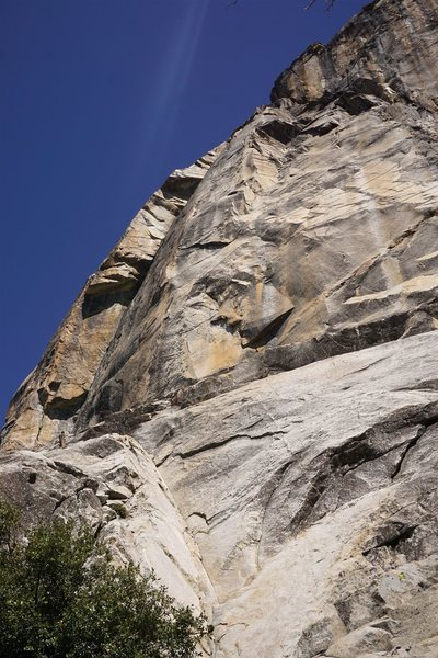 Rock Climbing Photo: Scramble up to the obvious corner. I thought the g...