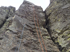 Rock Climbing Photo: Vantage - Feathers