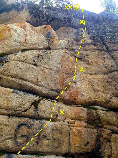 Rock Climbing Photo: GG