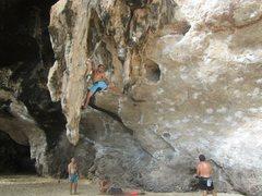Rock Climbing Photo: Jonathan in Thailand!!!