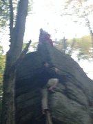 Rock Climbing Photo: just playing around