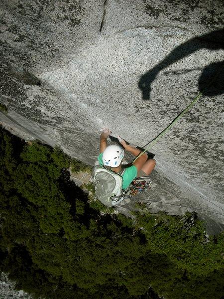 Rock Climbing Photo: Serenity Crack