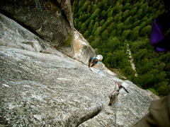 Rock Climbing Photo: East Buttress of Middle Cathedral