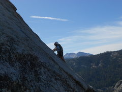 Rock Climbing Photo: Half Dome via Snake Dike