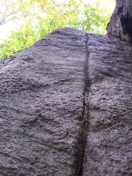 Rock Climbing Photo: bear den cracks, nw nj