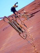 Rock Climbing Photo: Masters of thin Aid!!!!