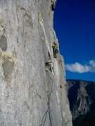 Rock Climbing Photo: More El Cap Free Climbing!