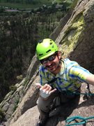 Rock Climbing Photo: Mug on the Tower.