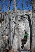 Rock Climbing Photo: Dave on Mystery Groove