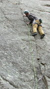 Rock Climbing Photo: The 9 start.