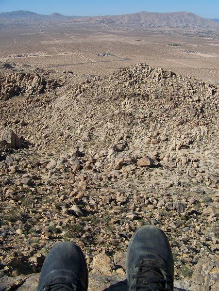 Rock Climbing Photo: Above the Cemetery