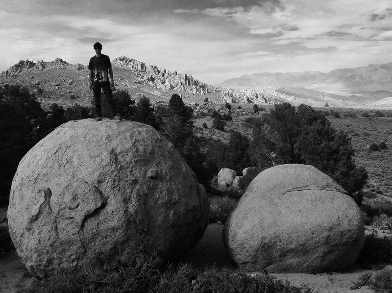 Rock Climbing Photo: Buttermilks