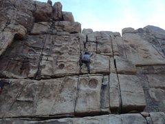 Rock Climbing Photo: Fun free solo