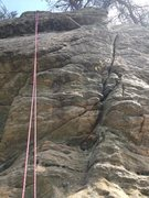 Rock Climbing Photo: The finger crack on main wall... top rope or trad ...
