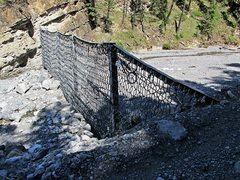 Rock Climbing Photo: The dam that you must cross before entering the ca...