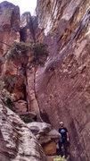 Rock Climbing Photo: base of route