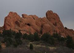 Keyhole Rock west face.