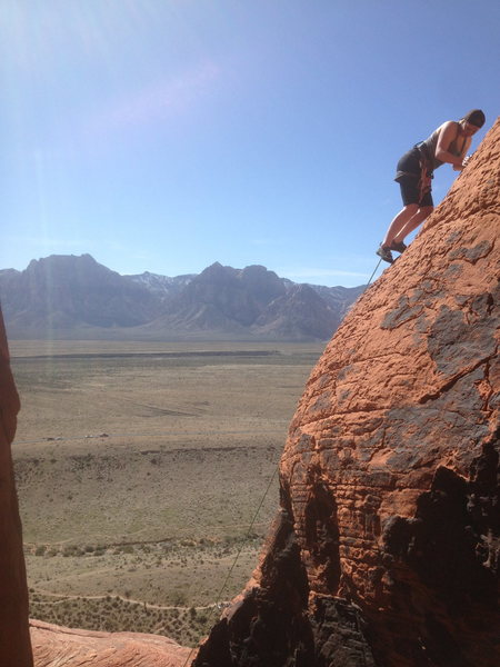 Rock Climbing Photo: Katy O'keefe on Panty Prow