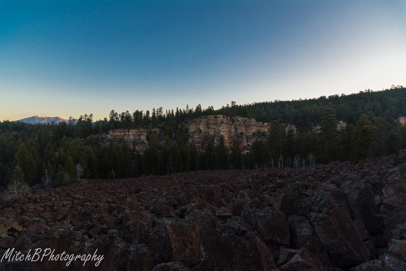 Rock Climbing Photo: Spring Break Visit. Break of dawn approach.