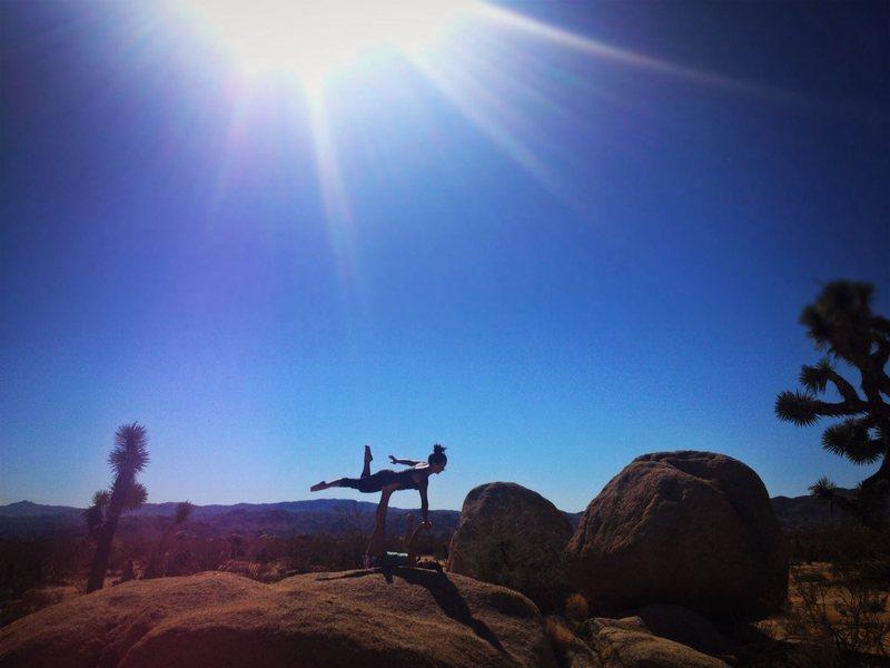 Rock Climbing Photo: Acro yoga