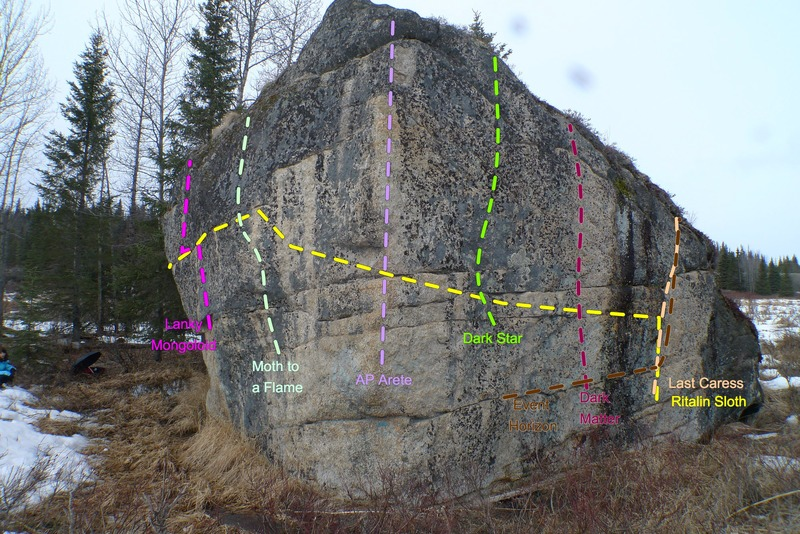 The Anchor Point Boulder South Face