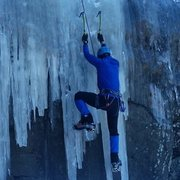 Rock Climbing Photo: Catskills ice sheet