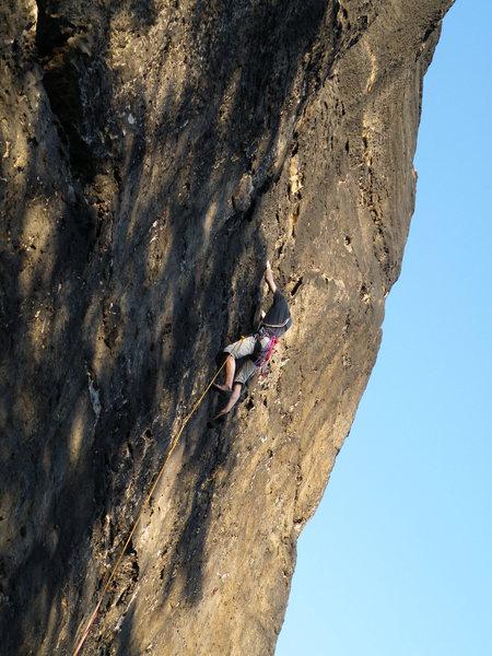 Rock Climbing Photo: Lola tower, West face