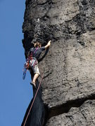 Rock Climbing Photo: Domwaechter, Saber direct. Steep, great holds, lon...