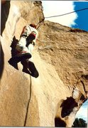 Rock Climbing Photo: Jim Bailey starting the layback theme of this cool...
