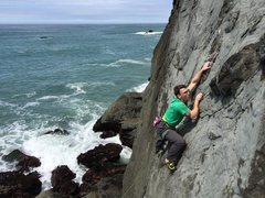 Rock Climbing Photo: Taylor, cruising.  Great position on this route.