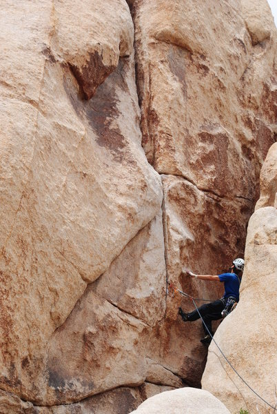 Rob, looking into the crux.