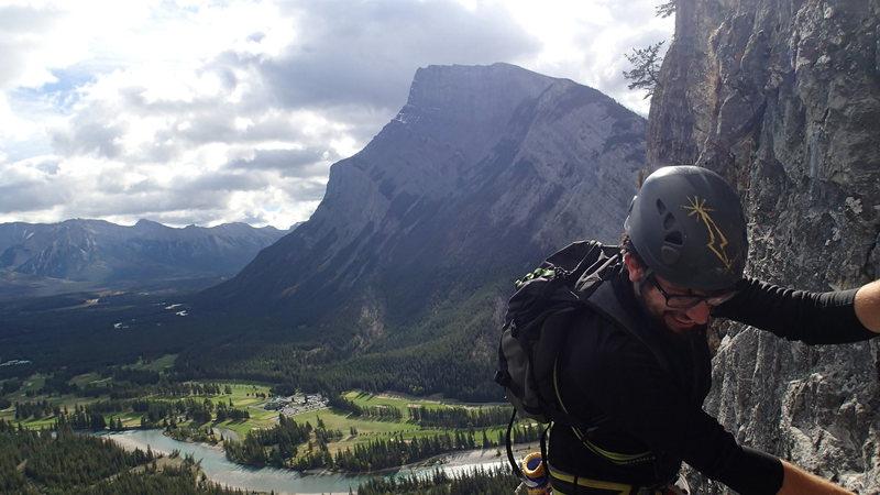 Rock Climbing Photo: high on ballista