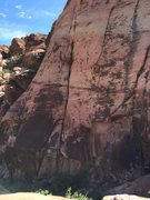 Rock Climbing Photo: right side ascent, belay from physical graffiti an...