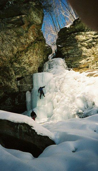 2004 Buttermilk Falls, Peekamoose Valley, Catskills