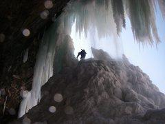 Rock Climbing Photo: 2009 Kaaterskill Falls Catskills NY