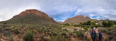 Rock Climbing Photo: Rooiberg (left background) in Cederberg, South Afr...