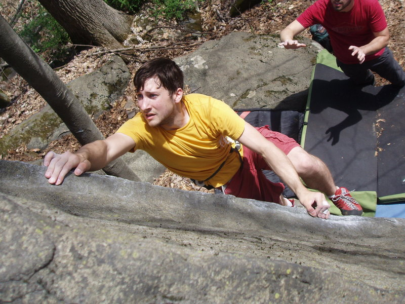 Rock Climbing Photo: sourlands
