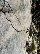 Rock Climbing Photo: NF becoming the 5th person to climb this perfect S...