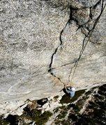 Rock Climbing Photo: Nicolas Fitzpatrick climbs the Ultimate Finger Cra...