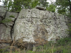 Rock Climbing Photo: The tallest wall that needs a good scrubbin' to se...