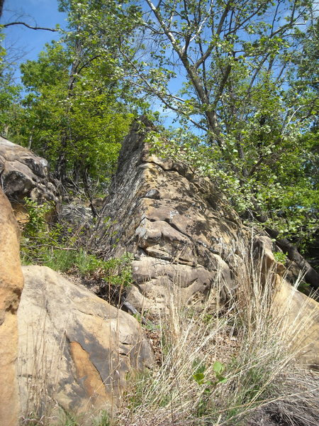 "Rock Climbing Photo: Thought I had found the ""le beak"" of Okl..."