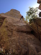Rock Climbing Photo: such a nice rappel on Chihuahua Power