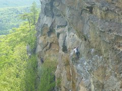 Rock Climbing Photo: Nice photo of Underdog taken somewhere from the ri...